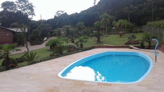 Piso piscina X Arenito X caxambu = Arenito Taquara Direto da Fábrica - Foto 6