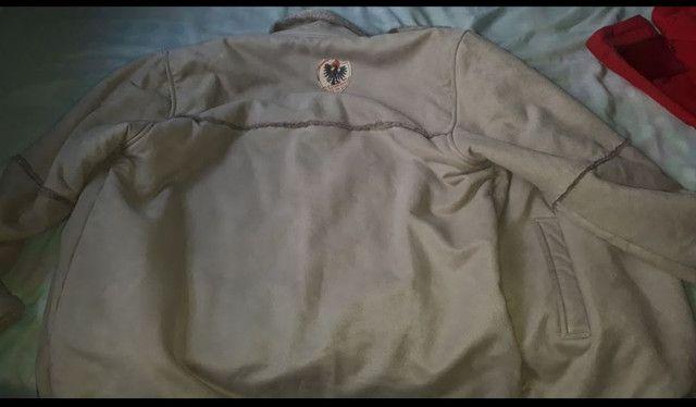 Jaqueta de camurça forrada  com  pele - Foto 5