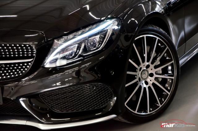 Mercedes C 450 C450AMG4M 367HP TETO 36 MIL KM 4P - Foto 11