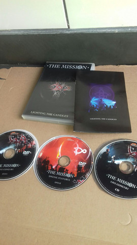 DVD THE MISSION... LIGHTING THE CANDLESS  - Foto 3