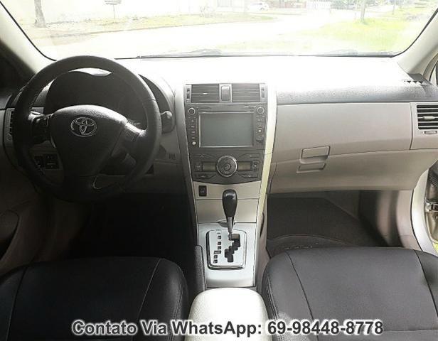 Toyota Corolla GLI Flex Ano 2012 Motor 1.8 Completo - Foto 7