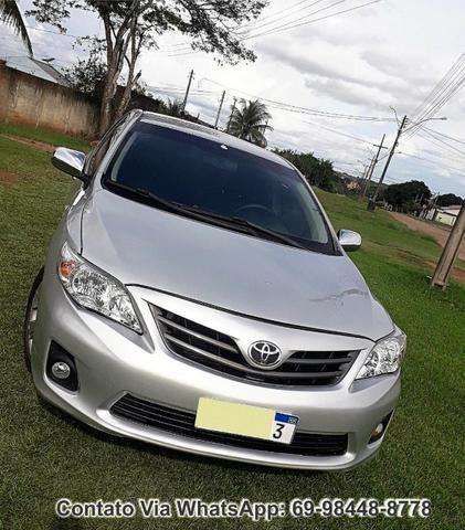 Toyota Corolla GLI Flex Ano 2012 Motor 1.8 Completo - Foto 13