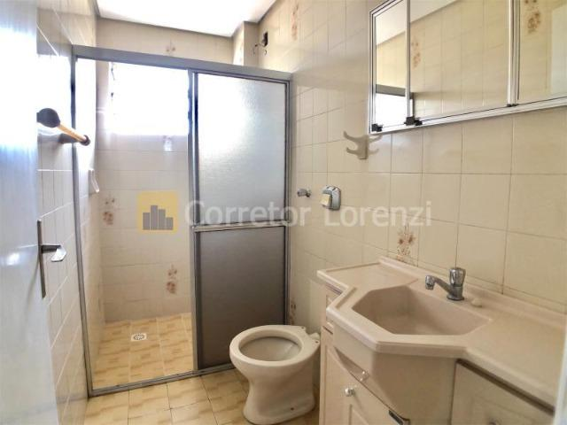 Apartamento de 85 m², 3 dormitórios, sacada, garagem - NH - Foto 7
