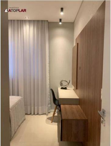 Apartamento garden com 3 dormitórios à venda, 208 m² por r$ 1.230.000,00 - pioneiros - bal - Foto 19