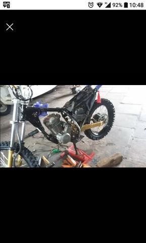 XTZ com motor OHC 200cc - Foto 2