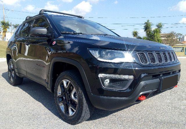 Jeep Compass Trailhawk 2.0 16v Turbo Díesel Aut 4X4 2018 Ùnico dono