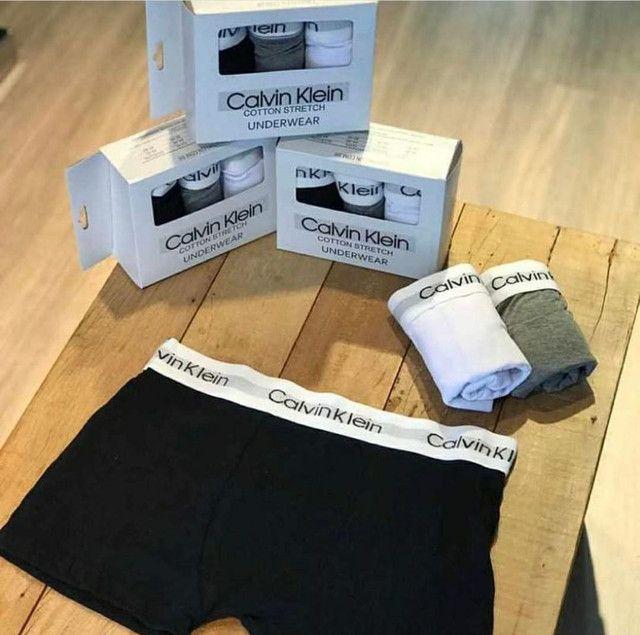 Cueca Box Calvin Klein Kit 3 UN