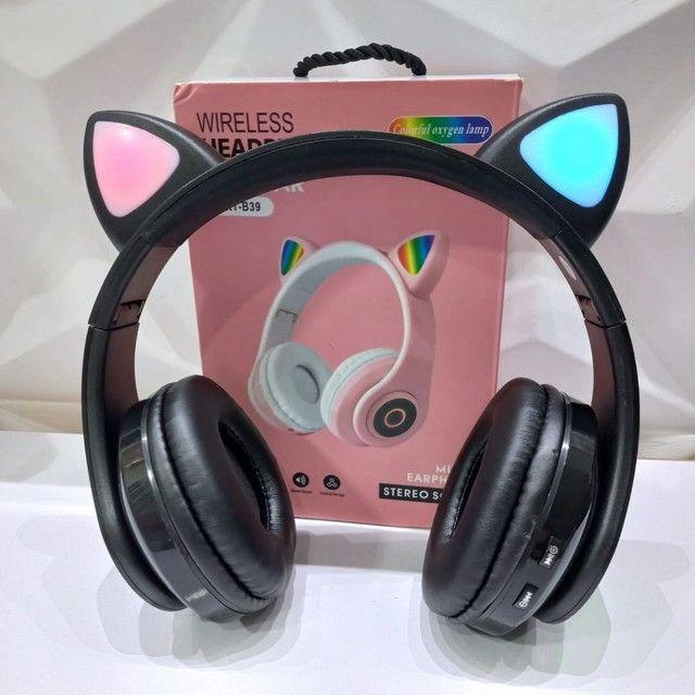 Fone orelha de gato (entrega grátis) - Foto 4