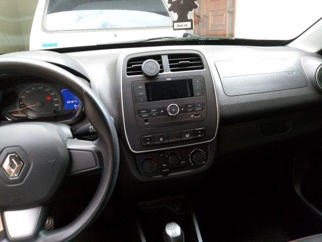 Renault Kwid Zen Prata - Foto 6