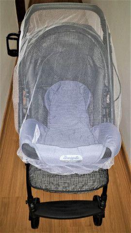 Carrinho de passeio + ninho neonato - Foto 6