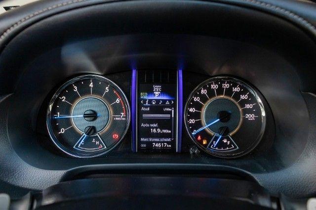 Toyota hilux sw4 4x2 srv flex 2018 automatica *IPVA 2021 PAGO* - Foto 10