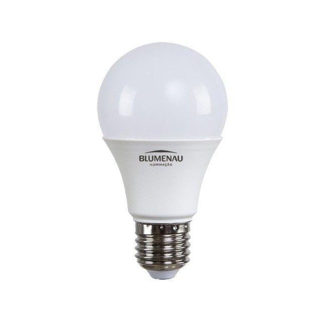 Lâmpada A60 Bulbo LED E27 12W 6500K - Blumenau