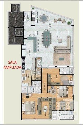 Apartamento à venda com 4 dormitórios em Santa lúcia, Belo horizonte cod:265827 - Foto 8