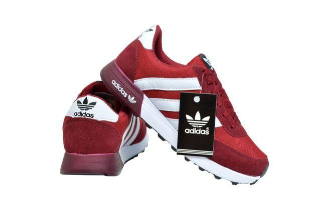 Tênis Esportivo Adidas Primeira Linha - Foto 6