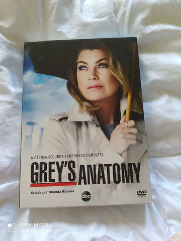 Dvd Grey s anatomy