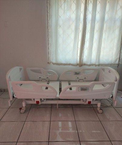 Cama Hospitalar com Posição de Poltrona a Pronta Entrega - Foto 4