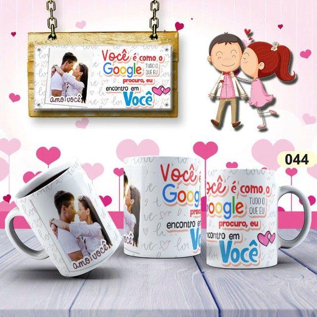 Canecas De Dia Dos Namorados Personalizada 325ml #. Gpdfn Bcqjw - Foto 4