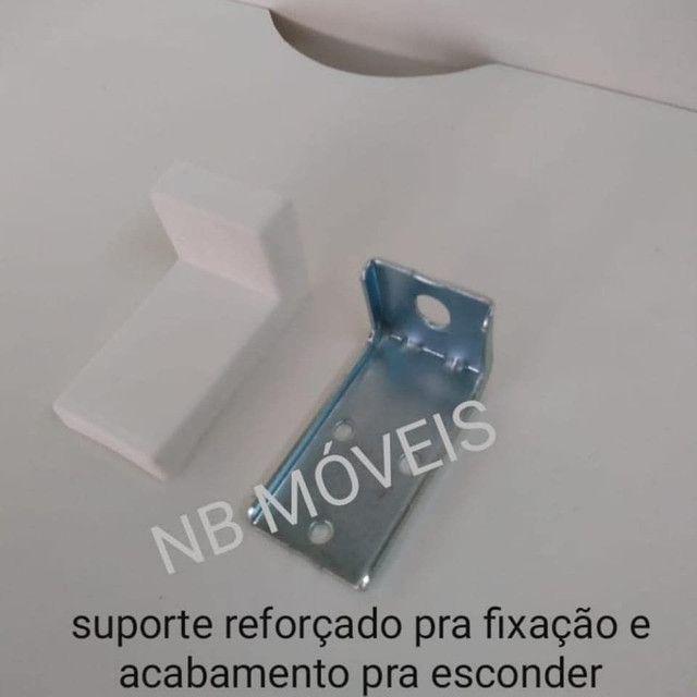 SUPORTE PRA MICRO-ONDAS EM MDF  - Foto 6