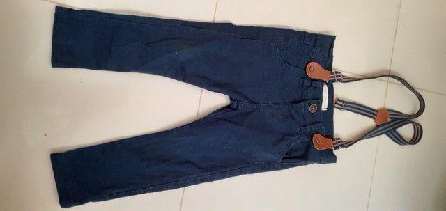 Lote de roupas e calçados menino 2 anos  - Foto 2