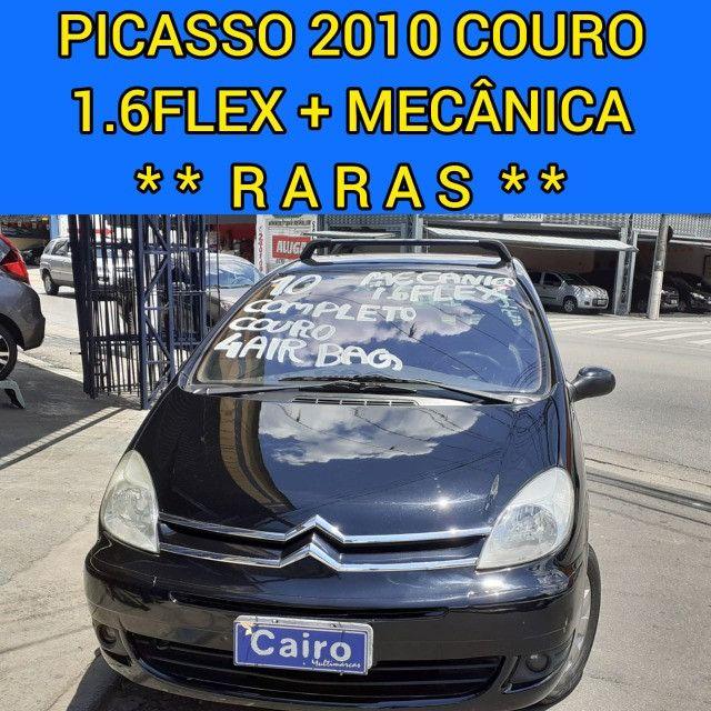 Xsara Picasso 2010 exclusive 1.6 flex completa couro ar condicionado