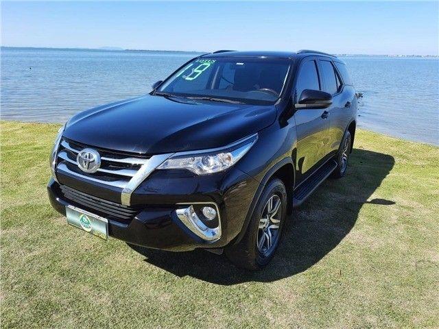Toyota Hilux SW4 2.7 Automático 2019 Preto - Foto 2