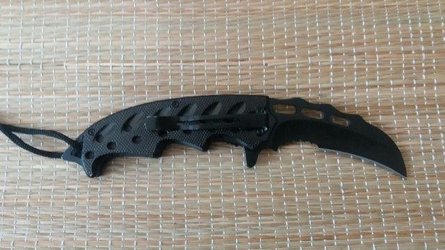 Canivete Karambit Serrilhado - Foto 4