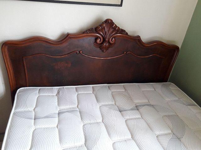 Cama, colchão e 2 cômodas - Foto 2