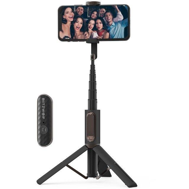 Bastão de Selfie BlitzWolf BW-BS10 - Foto 2
