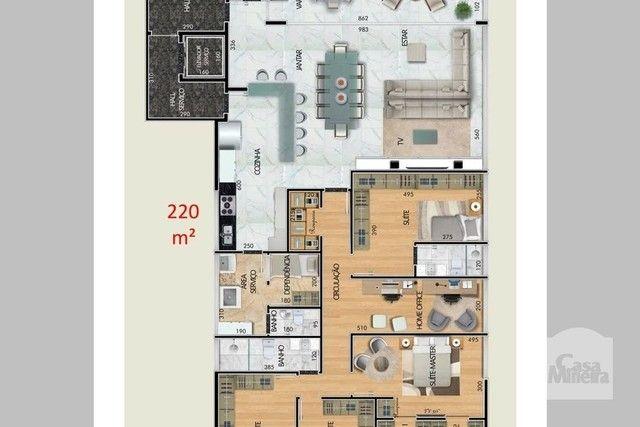 Apartamento à venda com 4 dormitórios em Santa lúcia, Belo horizonte cod:265827 - Foto 6
