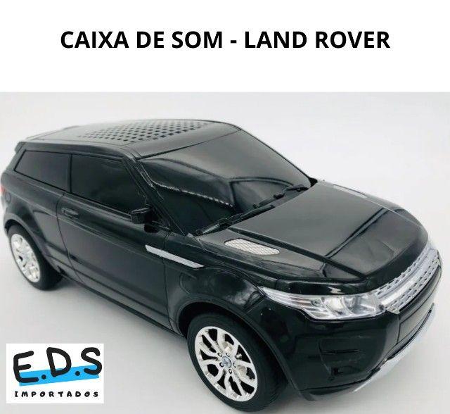 Caixa de Som Land Rover, Bluetooth, Rádio FM AM, USB, Recarregável, som potente! - Foto 2