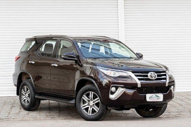 Toyota hilux sw4 4x2 srv flex 2018 automatica *IPVA 2021 PAGO* - Foto 3