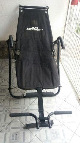 Cadeira para exercício abdominal