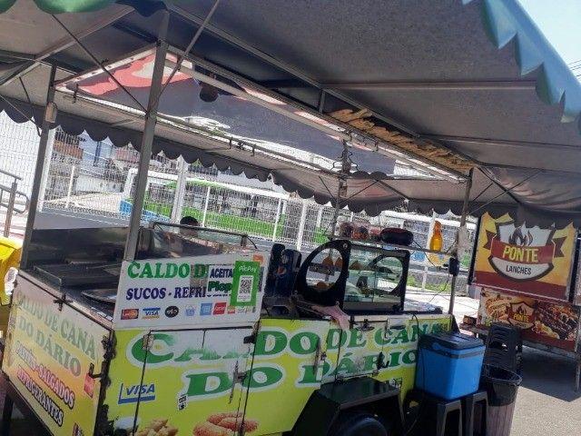 vendo reboque de caldo de cana  e carrinho de churrasco barato - Foto 2