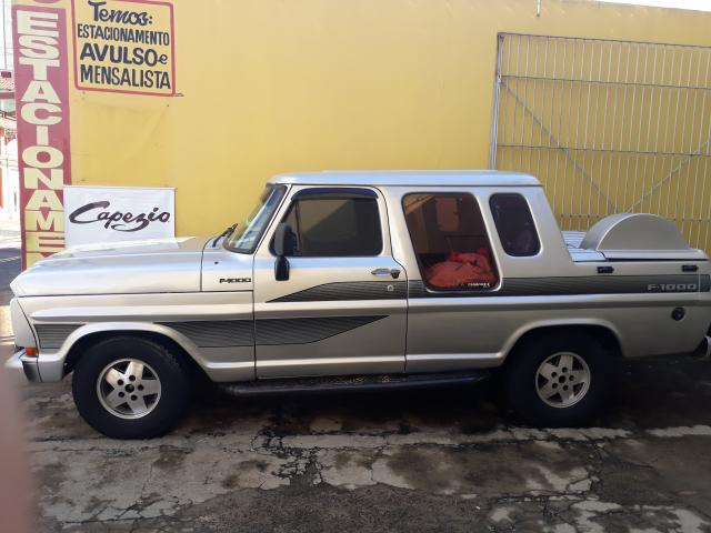 FORD F-1000 CABINE DUPLA TURBO DIESEL RS 25.600