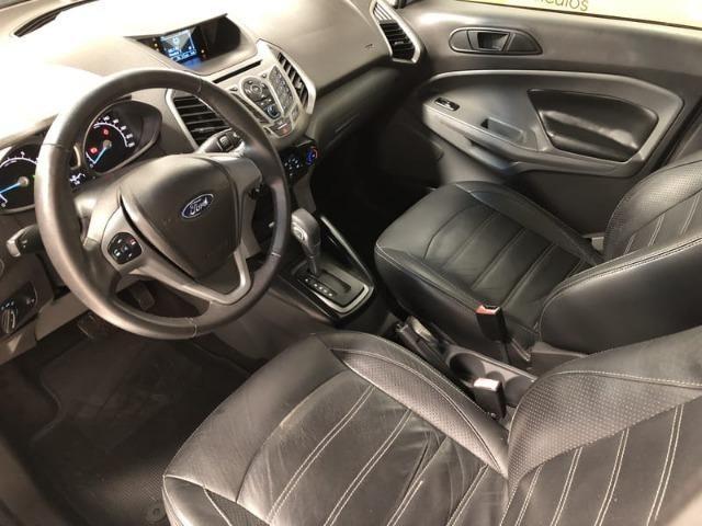 Ford Ecosport SE 2.0 Flex Automática - Banco em couro + Pneus ZERO + (IPVA 2019 Pago) - Foto 14