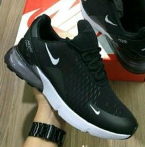 Tênis Nike Air - Preto e Branco - Entrega Grátis 723eb29e123