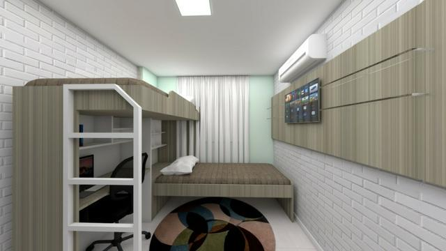 Apartamentos para alugar no Bairro Damas, 03 quartos opções de 01 e 02 vagas de garagem - Foto 10