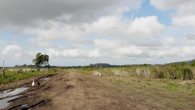 Terreno em Sangão próximo ao acesso do Aeroporto Regional