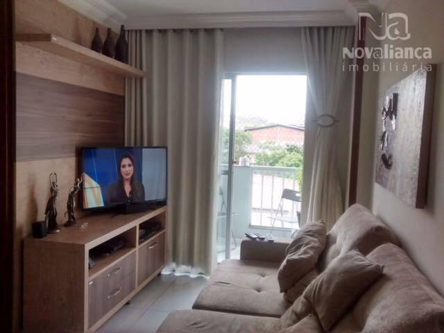 Apartamento com 3 dormitórios à venda, 78 m² por R$ 340.000 - Jardim Camburi - Vitória/ES