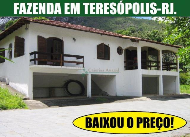 Fazenda rural à venda, Sebastiana, Teresópolis.