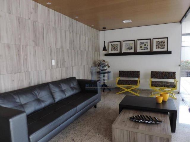 Apartamento com 4 dormitórios à venda, 133 m² por R$ 750.000 - Jatiúca - Maceió/AL - Foto 5