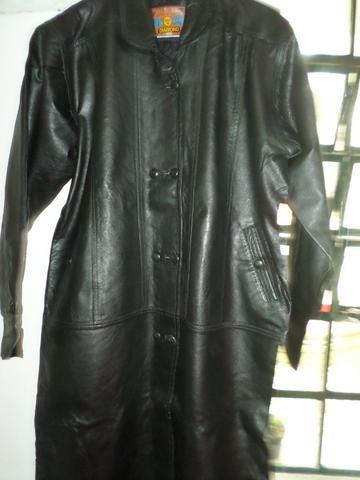 [ novo ] Casaco de couro puro,comum para mulheres ou homens,em santa Isabel !! - Foto 2
