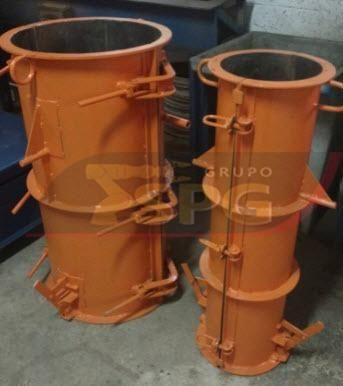 Conjunto vibratório para fabricar tubos manilhas de concreto - Foto 4