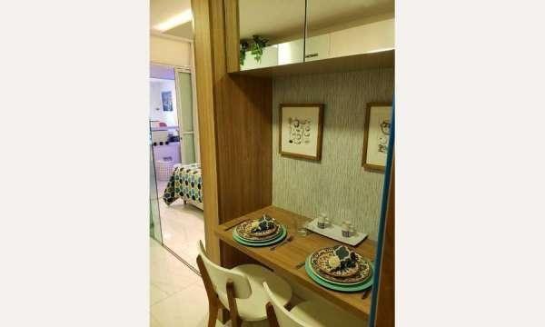 Apartamento Lançamento Barra 1 Quarto #Thatiana Sena 71982115560 - Foto 4
