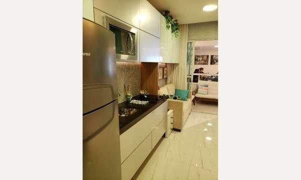 Apartamento Lançamento Barra 1 Quarto #Thatiana Sena 71982115560 - Foto 3