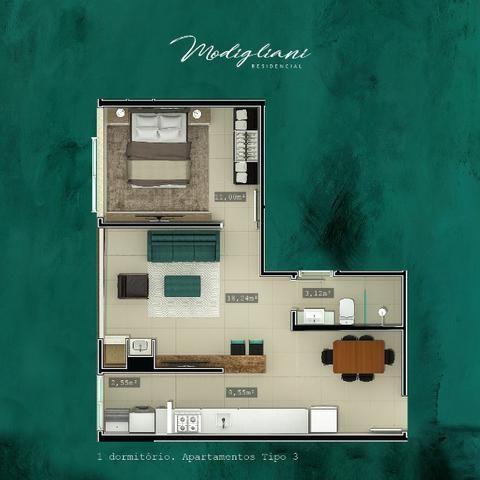 JM - Apartamento com Vista Mar 1 dormitório nos Ingles - Promocional - Foto 4