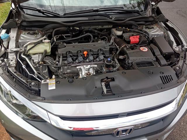 Honda Civic EXL 2018 garantia de fábrica até 2021 - Foto 17