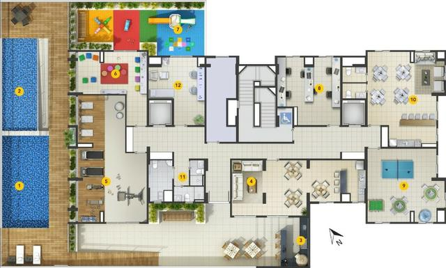 Osasco Presidente Altino MCMV 2 dormitórios 1 Vaga de Garagem Terraço Lazer Completo - Foto 18