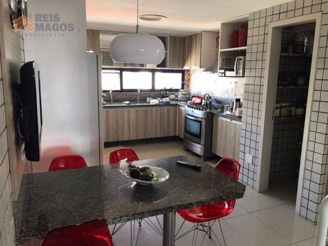 Apartamento com 3 dormitórios à venda, 235 m² por R$ 670.000 - Tirol - Natal/RN - Foto 16