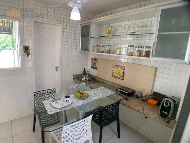 Casa com 3 dormitórios para alugar, 450 m² por R$ 8.000/mês - Candelária - Natal/RN - Foto 8